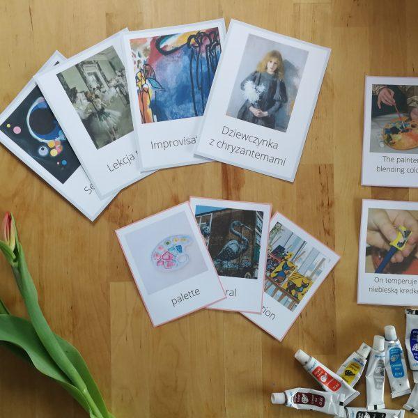 flashcards karty obrazkowe