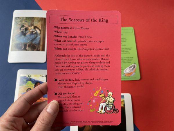 Karty o sztuce po angielsku
