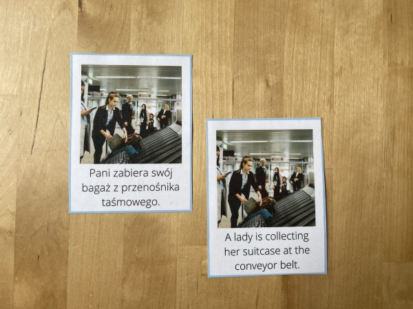 karty obrazkowe airport