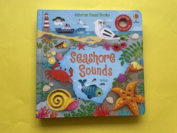 Seashore sounds książka dźwiękowa