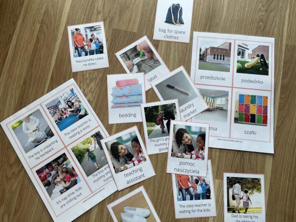 karty obrazkowe angielski dla dzieci